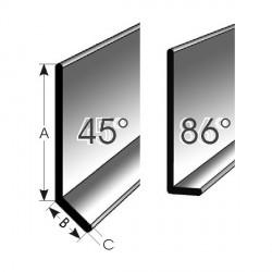 Zhotovení 90° vnitřní roh,vyseknutý formovaný pro 86 °Typ 5010