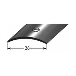 Přechodový profil 28 mm, nerez leštěná, s ochrannou folií - 1,0 mm