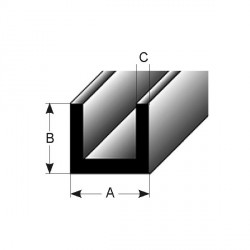 U-profil (AL-stavebí profily čisté po lisu)