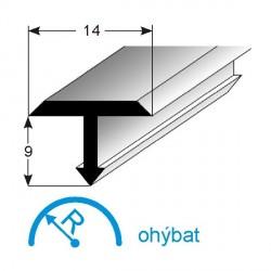 T-profil pro přechody 14x9 mm (vnitřní rozměr)