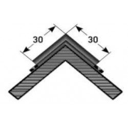 schodový roh - Přirážka pro samolepící provedení pro jednu stranu