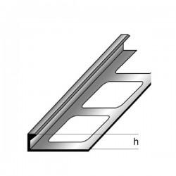 Profil pro dlažbu / oddělovací profil 2,5m - mosaz čistá