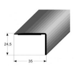 PVC - hrany pro schodové nášlapy