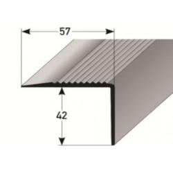 PVC - schodové hrany 42 x 57 mm