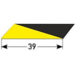 Samolepící protiskluzová vložka 39 mm, třída R10, hrubá